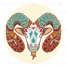zodiac sign aries love this, the ram symbol has many meaning to me