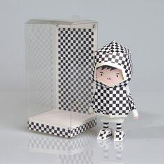 [ CHECK ] Paper toy of Boogiehood by boogun chung, via Behance