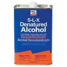 Denatured Alcohol (Solvent and Sterilizer) is a solvent very similar to what dry cleaners use for removing stains. Denatured alcohol & water (equal parts) dabbed on to upholstery can be very effective in ridding furniture of mold and mildew stains.