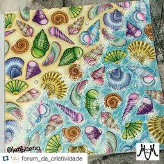 """""""Repost @forum_da_criatividade with @repostapp ・・・ Compartilhe com a gente suas ideias e materiais, use: #nossooceanoperdido  #florestaencantada…"""""""