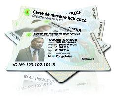Nouvelle carte de membres des RCK CRCCF