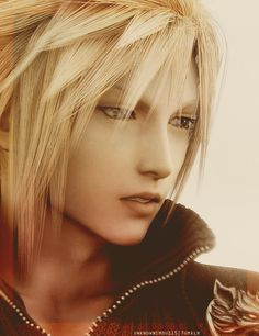 Cloud Strife, could care less about final fantasy but omg cloud :3