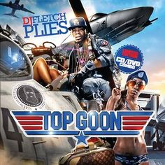 Plies and DJ Fletch - Top Goon - Design by Kid Eight. Copying movie posters is one of the oldest themes of mixtape covers. Since the 90's and endless amount of covers have shown twisted and witty versions of blockbusters. All the designers featured in the book dream about one day designing real movie posters