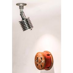 Industrial Spotlight, industrial light, conduit light, rustic lighting, light by Metrourbane on Etsy Rustic Lighting, Industrial Lighting, Lighting Design, Conduit Lighting, Interior Styling, Track Lighting, Beams, Spotlight, Light Fixtures