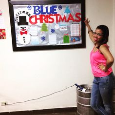 BlueChristmas Murales MuraldeNavidad Diciembre