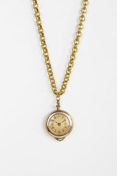 #UrbanOutfitters          #Women #Accessories       #measurements #overview #similar #natalie #yours #chunky #content #jewelry #necklace #unique #pendant #watch #brass #vintage #pieces #chain #long #photo #glass #care                 Natalie B Jewelry Watch Necklace                    Overview: * Long chunky chain necklace from Natalie B * Trimmed with a vintage watch pendant * Made from vintage pieces, each necklace is totally unique * While similar, yours may vary from the photo…