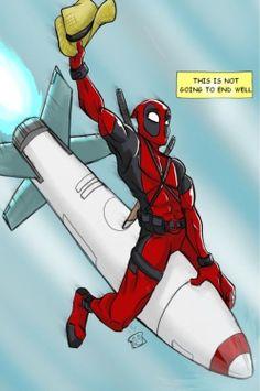 Deadpool. He's my spirit animal.
