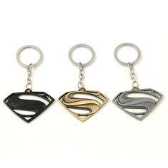 欧米のスタイルをアベンジャーズシリーズmoivesテーマスーパーマンのロゴキーホルダーキー小物キーホルダー存在送料無料