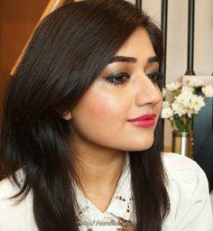 Rosey Makeup look