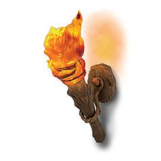 ThinkGeek :: Wall Torch Sconce