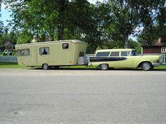 Vintage Camper & Station Wagon