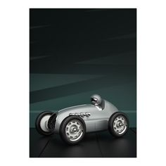 WEBSTA @ playforever - Modena Grand Prix in smoke silver. Rendered here with a traditional industrial design aesthetic quite common in the early auto design studios. #design #industrialdesign #classics #cars #car #vintage #designertoys #luxury #luxurylife #luxurycars #luxurylifestyle #playforever #style #styleblogger #stylish #fashion #fashionblogger