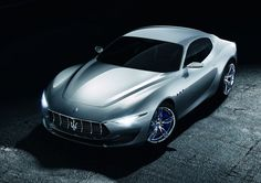 Maserati Alfieri Concept - Car Body Design