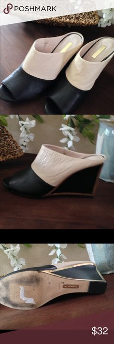 Cute , classy leather slip-ons LOUISE ET CIA leather slip-on, cute easy to wear , matches most outfits! Shoes