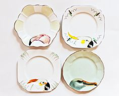 The Birds plate set