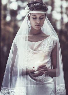 Laure de Sagazan   Robes de mariée   Collection 2013