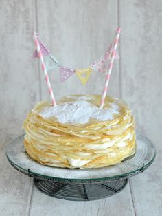 The Crazy Kitchen: Recipe for Pancake Day : Creamy Crepe Cake Pancake Dessert, Pancake Cake, Pancakes, Kids Yogurt, Crazy Kitchen, Lemon Yogurt, Crepe Cake, Everyday Food, Pancake