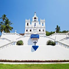 Our Lady of Immaculate Conception Church, in Panjim is an iconic landmark in Goa.