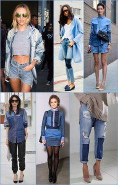 De blue jeans, de blue jeans, tênis velho no pé, de boné! Taí Angélica que não nos deixa mentir, jeans, o bom e velho jeans, cai bem em qualquer estilo ou ocasião, mas nos dias de hoje, ele vem cada vez mais em diversas outras formas! Só dar um rápido passeio pelos editoriais de moda …