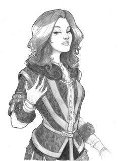 Yennifer Sketch
