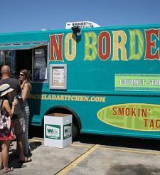 Houston food trucks - yum!