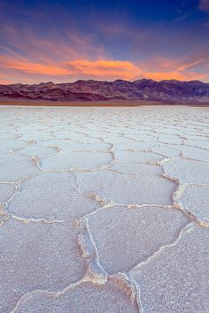 badwater basin, death valley national park -- lowest point in north america
