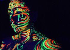 Rave Face Paint