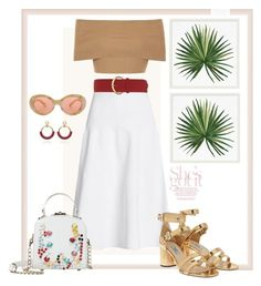 """""""17.05.17"""" by caglatersak on Polyvore featuring Pottery Barn, Blue Vanilla, Victoria Beckham, Prada, Acne Studios, Dorothy Perkins, red, casualoutfit ve woman"""