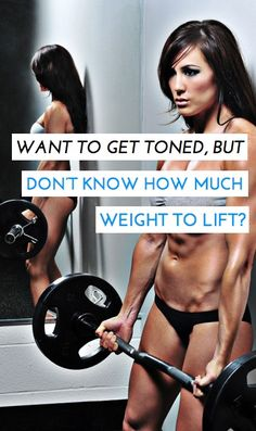 Personal trainers tips on how to determine how much weight you should be lifting in your strength training exercises. - I think this is the best information I've seen on pinterest. It's actual tips, and advises to eat healthy too, not just go crazy and exercise!