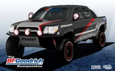 Enter To Win The BF Goodrich® Tires Sweepstakes!