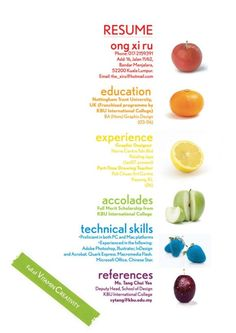 juicy #resume