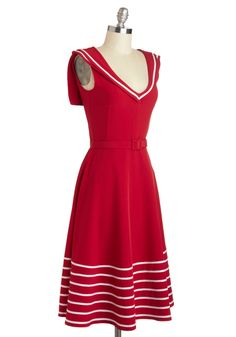 Either Oar Dress | Mod Retro Vintage Dresses | ModCloth.com
