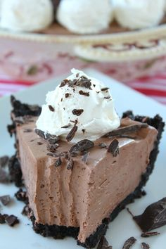 Chocolate Cream Cheese Pie | 19 Chocolate Pies That Prove Happiness Is Within Reach