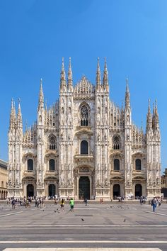 Cathedral (Duomo) in Milan, Italy
