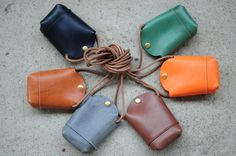 Hand Stitched Light Brown Leather phone от ArtemisLeatherware