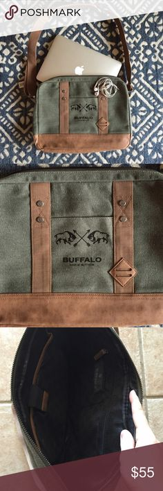 NWT BUFFALO DAVID BITTON Any questions, please ask! Buffalo David Bitton Bags Laptop Bags