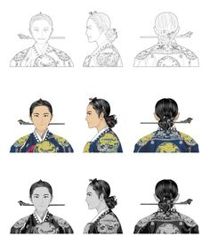 Korean Traditional Dress, Traditional Fashion, Traditional Dresses, Korean Illustration, Korean Hanbok, Crazy Outfits, Korean Art, Korea Fashion, Korean Outfits