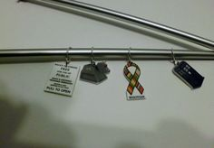 Doctor Who Knitting Stitch Markers or Pendants