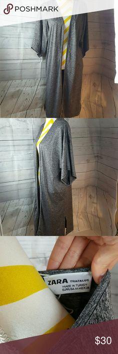 "Zara grey kimono style throw New  Lenght 40.5"" Zara Jackets & Coats Blazers"