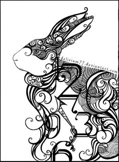 Cool! From: Healing Circle: Follow the White Rabbit 1/16-2/6/2012 - Unfolding ...