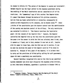 美國官方文件 美國軍政府在日本 U.S. MILITARY GOVERNMENT IN JAPAN, 1945-1950 AD-775 574 (文件編號) Army War College 第五頁 頁碼:2