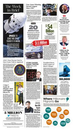 The Week in Brief|Epoch Times #TheWeekinBrief. #newspaper #editorialdesign
