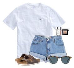 featuring Levi's, Bobbi Brown Cosmetics, Birkenstock and Ray-Ban Cute Teen Outfits, Cute Outfits For School, Cute Comfy Outfits, Teenager Outfits, Cute Summer Outfits, Simple Outfits, Outfits For Teens, Trendy Outfits, Cool Outfits