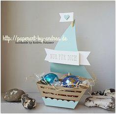 Schiffchen ahoi – kleine Goodies zur Geburt/Taufe…
