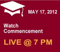 Montgomery County Communitiy College's Commencement will be streamed live on our website. Procession begins at 6:30pm, and ceremony starts at 7pm. Tune in!