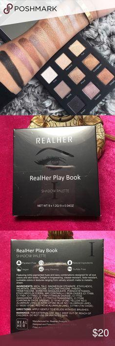Eyeshadow Palette New/unopened eyeshadow palette. RealHer Makeup Eyeshadow