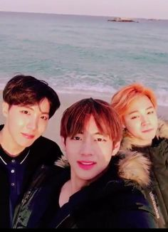 taehyung, hoseok and jimin