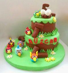Uzay ( Space) Angry Birds Pasta. Renkli Tatlar Butik Pasta. İletişim : 0533 668 86 80.