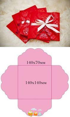tolle Verpackung für Geschenke und Gutscheine