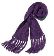 mark All Wrapped Up Scarf--Royal purple.